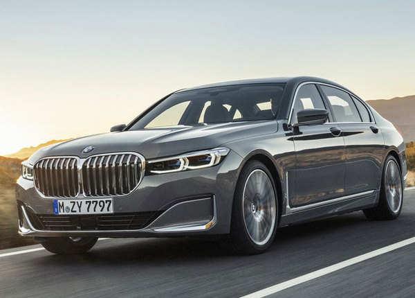 BMW 7 Series फेसलिफ्ट