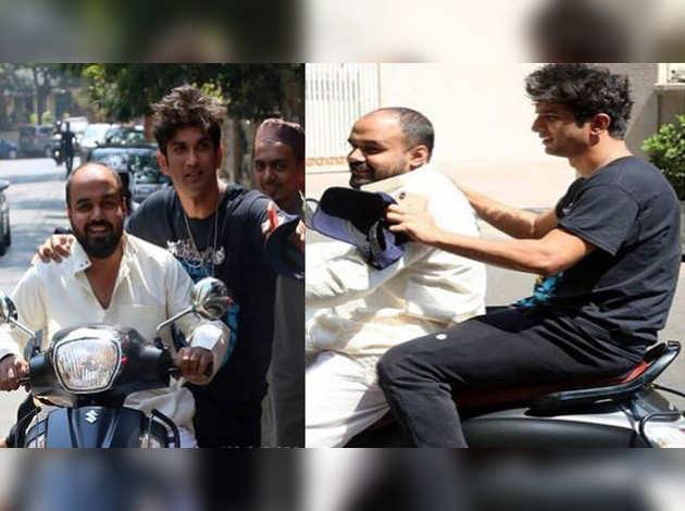 बिना हेल्मेट बाइक की सवारी करने पर सुशांत सिंह राजपूत हुए ट्रोल