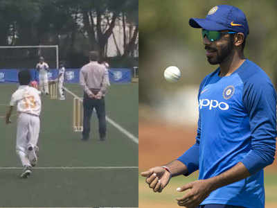 बुमराह को कॉपी करता है हॉन्ग कॉन्ग का युवा क्रिकेटर।