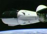 spacexs new crew capsule aces space station docking