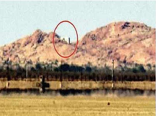 अंतरराष्ट्रीय सीमा के पास स्थित है मंदिर