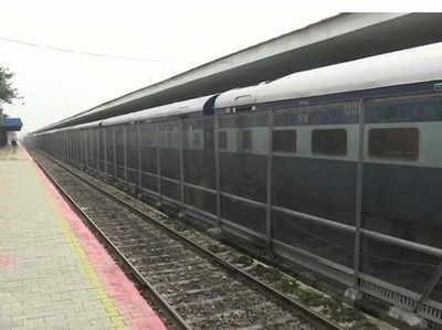अटारी पहुंची ट्रेन