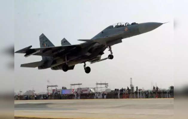 सुखोई विमान से हमला कर गिराया पाकिस्तानी ड्रोन