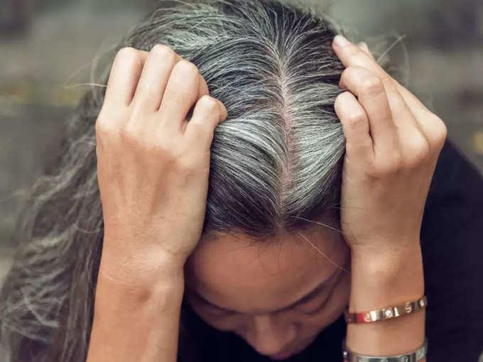 सफेद बालों से ऐसे पाएं छुटकारा