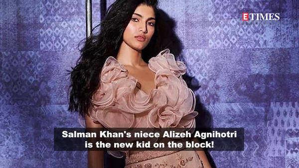 salman khans niece alizeh agnihotri new social media sensation