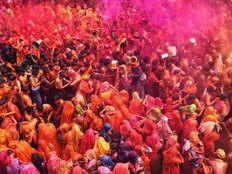 holi festival named rangotsav will be celebrated in braj for ten days