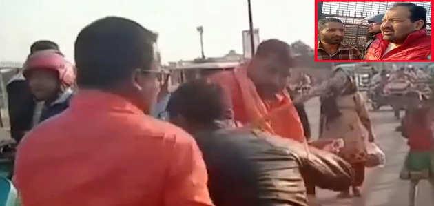 तहजीब के शहर लखनऊ में युवक ने पेश किया उदाहरण, कश्मीरी को हमलावरों से बचाया