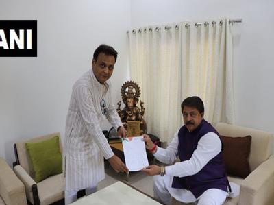 विधायक जवाहर चावड़ा का इस्तीफा