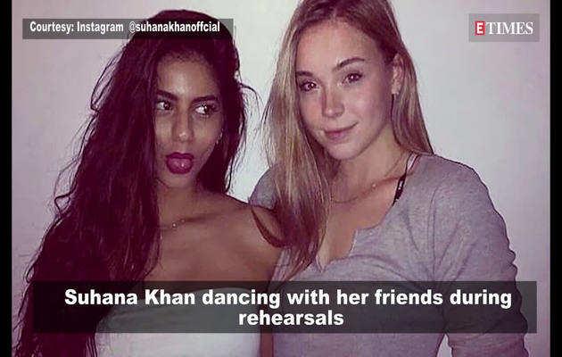 सुहाना खान का डांस विडियो हुआ वायरल