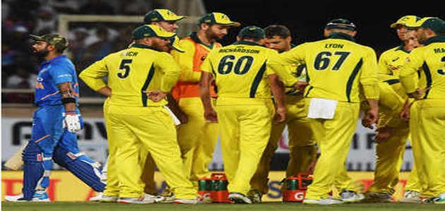 रांची वनडे: ऑस्ट्रेलिया ने भारत को 32 रनों से हराया