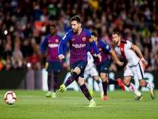 la liga barcelona beat rayo vallecano by 3 1