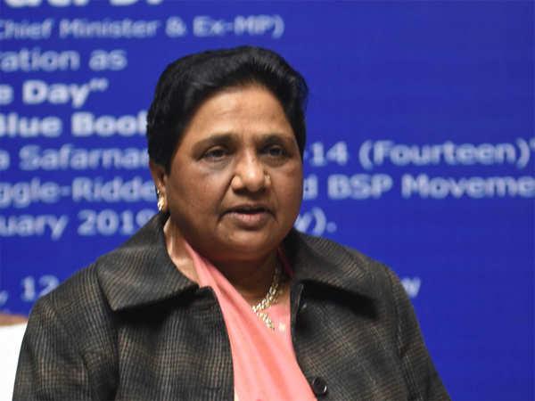 indians deserve a better govt mayawati on poll schedule