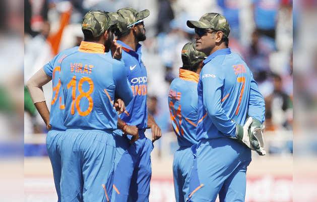 भारतीय टीम को शहीद सैनिकों की याद में मिलिटरी कैप पहनने की अनुमति दी गई: आईसीसी