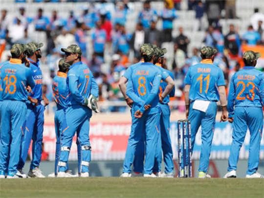 टीम इंडियाला लष्कराची टोपी घालण्यास परवानगी