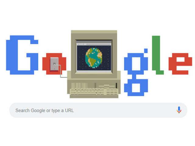 'World Wide Web' को पूरे हुए 30 साल, गूगल ने इंटरनेट के जन्मदिन पर बनाया खास डूडल