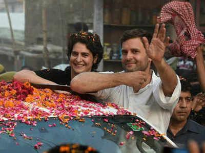 प्रियंका गांधी और राहुल गांधी ने यूपी में झोंकी ताकत