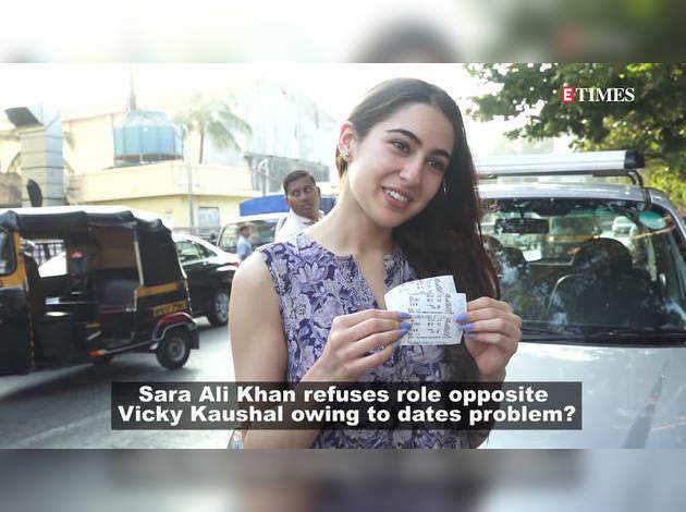 सारा अली खान ने छोड़ी विकी कौशल की फिल्म