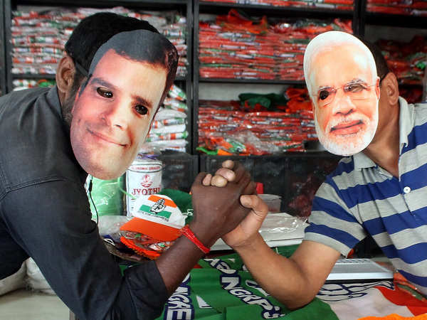 lok sabha elections sellers of polyester campaign materials hope to do good business