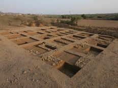 harappan burial site with 5000 year old skeleton in kutch discovered