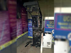 thieves steal 15 lakh rupees from 3 atms in one night