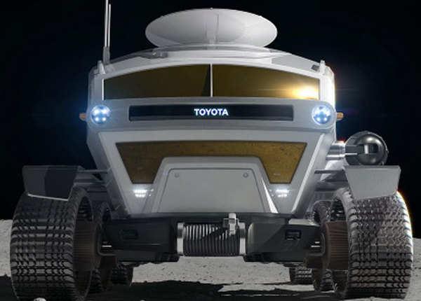चंद्रमा पर जाने के लिए सोलर वीइकल बना रहा टोयोटा, देखें तस्वीर