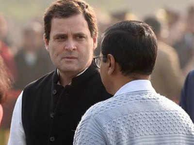 Delhi 'Aap Se Gathabandhan Par Kaaryakartaaon Ki Rai Maang Rahi Congress