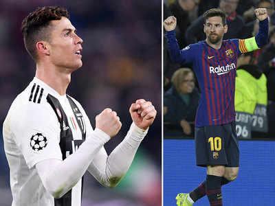 Ronaldo Ne Etaletiko Ke Khilaaf Damadaar Pradarshan Kiya Liyonel Mesi
