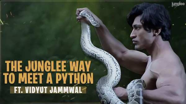 actor vidyut jammwal tell how to friendship with python