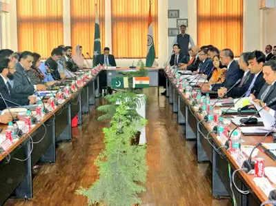 भारत और पाकिस्तान के प्रतिनिधियों के बीच करतारपुर कॉरिडोर पर मीटिंग
