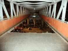 foot overbridge near cst railway station in mumbai collapses