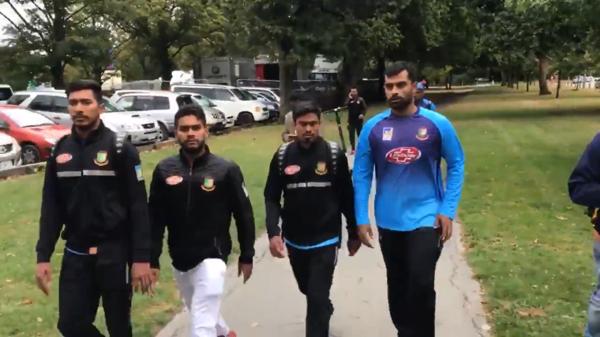 bangladesh cricket team escape safely from christchurch mass shooting