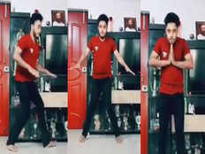 young man dance with doordarshans signature tune