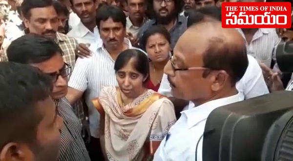 ys avinash reddy speaks to media over vivekananda death in pulivendula