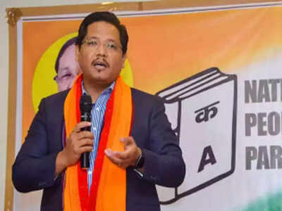 एनपीपी नेता कोनार्ड संगमा: फाइल फोटो