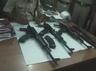 three killed in a police encounter in vaishali bihar two ak 47 rifles seized