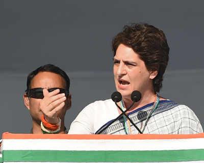 कांग्रेस महासचिव प्रियंका वाड्रा