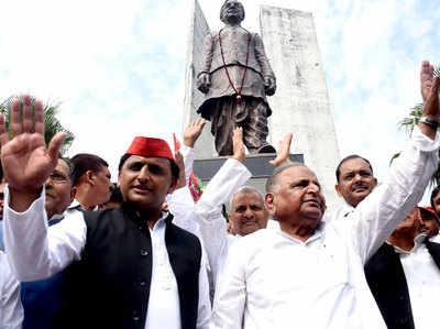 चुनावी दंगल से बाहर हैं मुलायम सिंह