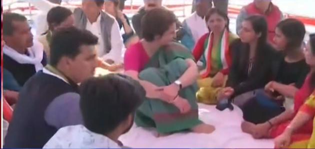 प्रियंका गांधी ने शुरू किया कांग्रेस का प्रचार अभियान, पीएम नरेंद्र मोदी को बताया अमीरों का चौकीदार