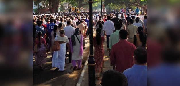 मीरामार बीच पर पूरे राजकीय सम्मान के साथ मनोहर पर्रिकर का अंतिम संस्कार