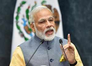 prime minister narendra modi talks to chowkidar of country attacks opposition