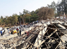 5 killed and 55 rescued in the building accident in karnataka
