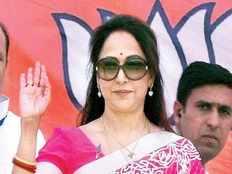 hema malini will file her candidature from mathura on monday