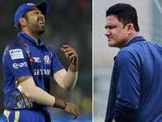 rohit must stick to his decision of opening for mi says anil kumble