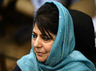 mehbooba mufti criticises central government for ban on yasin malik organisation jklf