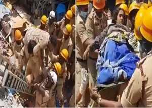 karnataka building collapse couple rescued after 3 days under debris