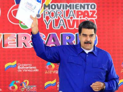 निकोलस मादुरो के समर्थन के लिए बैंक पर बैन