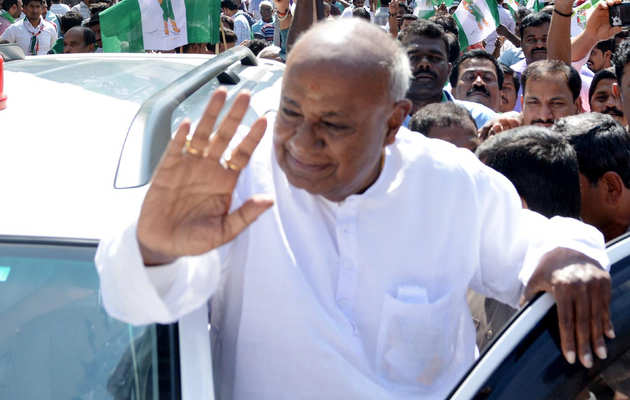कर्नाटक: टुमकुर से चुनाव लड़ेंगे पूर्व प्रधानमंत्री देवेगौड़ा