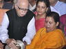 it is for advani to clear the mist uma bharti