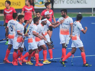 भारतीय पुरुष टीम को कोरिया से ड्रॉ खेलना पड़ा।