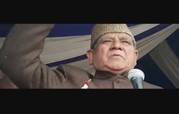 नेशनल कांफ्रेस नेता मोहम्मद अकबर लोन का बयान- कोई पाकिस्तान को एक गाली देगा तो मैं उसे दस दूंगा